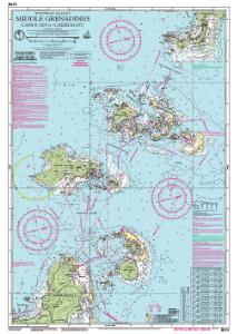 OceanGrafix  Nautical Chart ImrayB311 Middle Grenadines