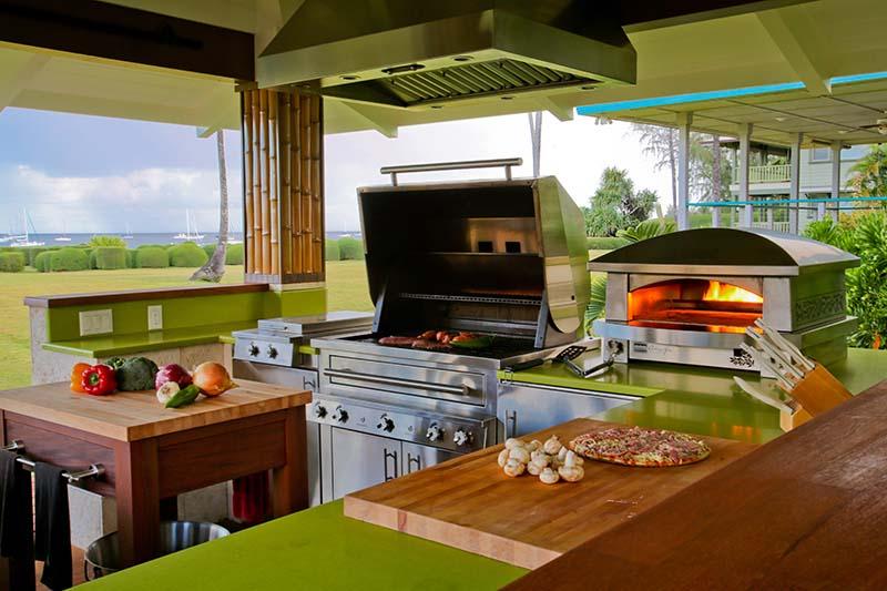 brown jordan outdoor kitchens replacement kitchen sprayer luxury - ocean home magazine