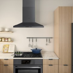Bosch Kitchen Suite Faucet Commercial Style Home Appliances Introduces First Black Stainless Steel
