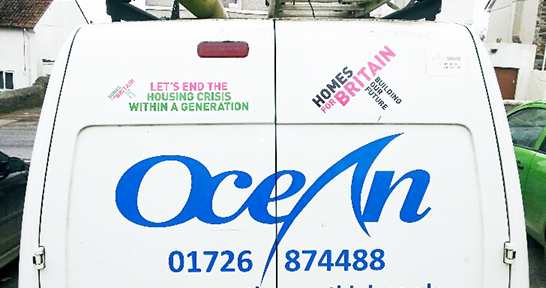 Homes for Britain van stickers_2