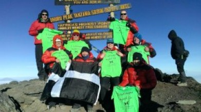 Summit Mt Kili