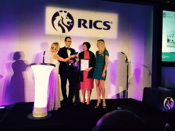 RICS prize collection