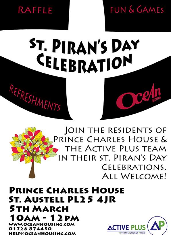 PCH St Piran's Day Celebration - Ocean Housing
