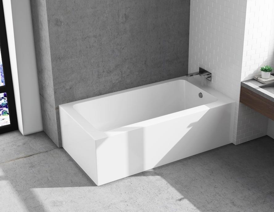 2 Sided Skirted Bathtub Image Bathtub Collections
