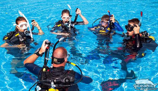 SCUBA Instructor   PADI Courses   SSI Courses   Oceanic - Oceanic