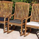 Rocking Chair Cushion Pad Oceanic Teak Furniture