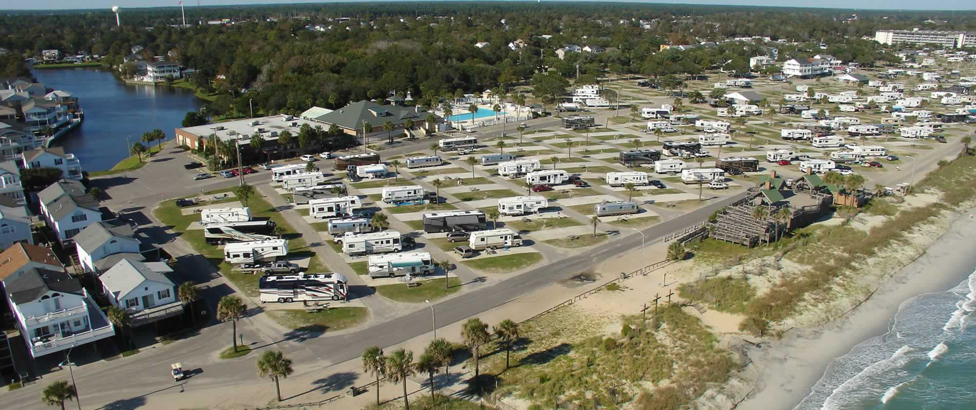 Ocean Lakes Family Campground Myrtle Beach Sc