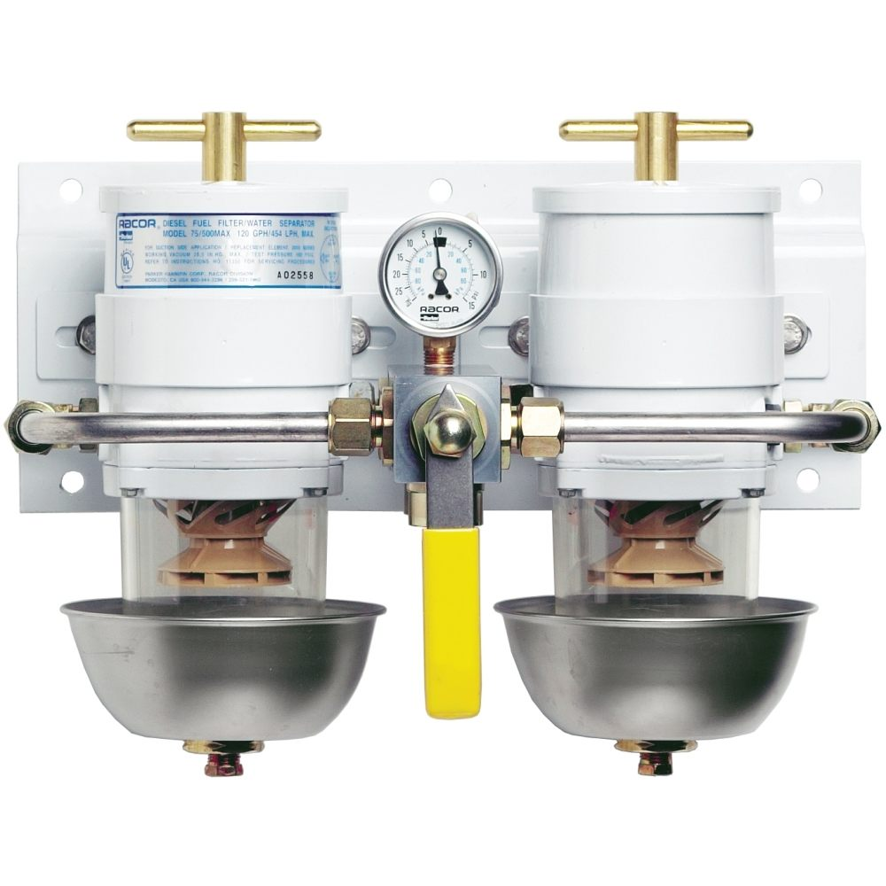 hight resolution of racor marine fuel filter