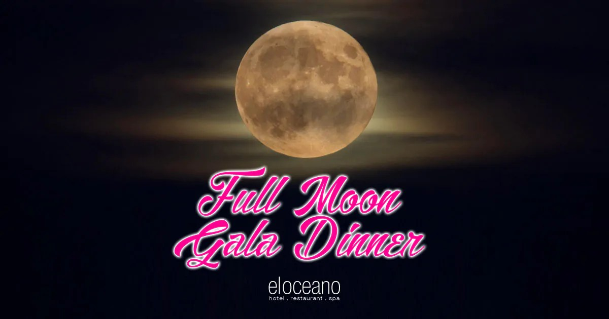 Full Moon Gala Dinners, El Oceano Luxury Beach Hotel Restaurant OG06