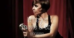 La Negra Mayte and Co Dining Entertainment at El Oceano Beach Hotel Restaurant Mijas Costa Spain OG01