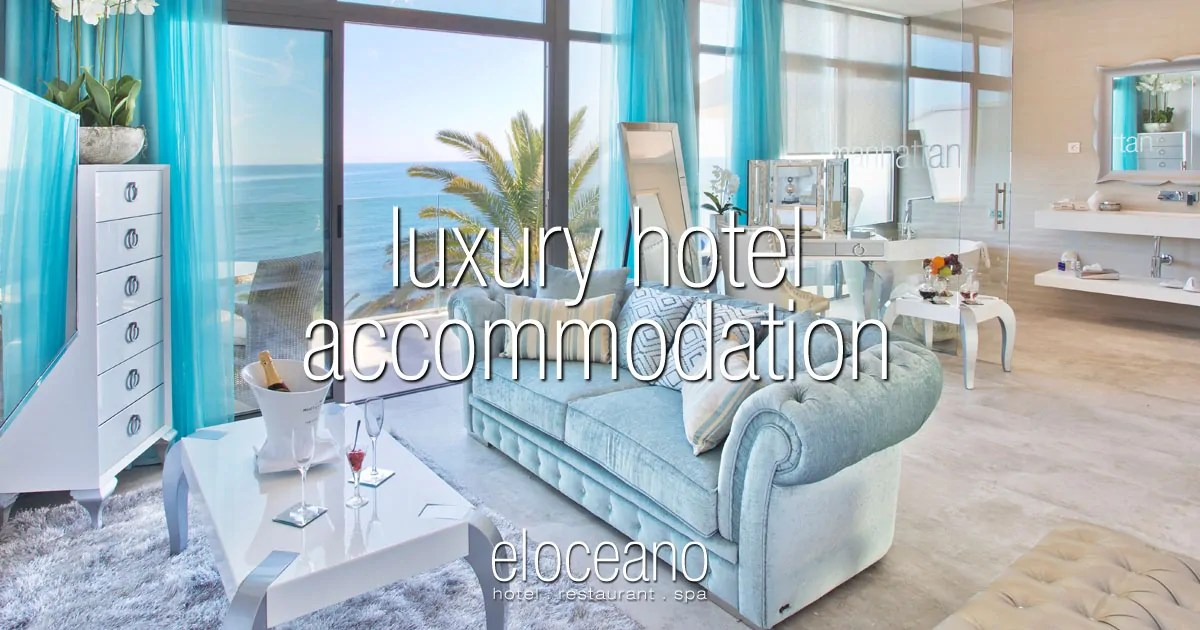 Hotel Accommodation - Luxury Hotel Rooms and Suites at El Oceano Hotel Costa del Sol Spain OG01