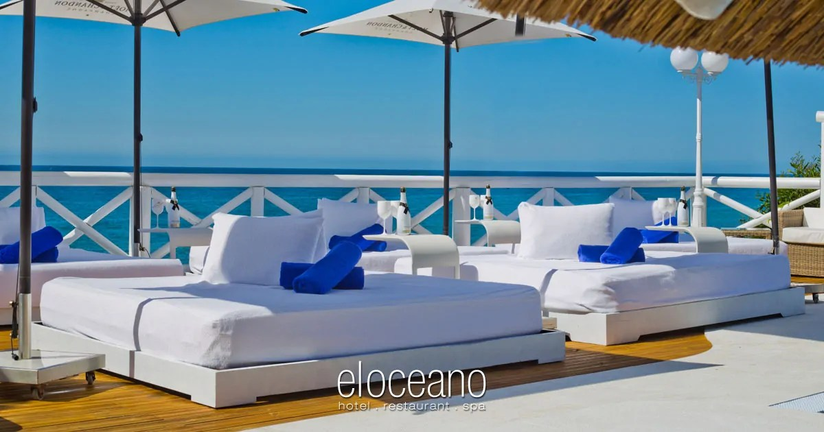 El Oceano Luxury Beach Hotel - Exclusive Sun Terrace and VIP Sunbeds OG05