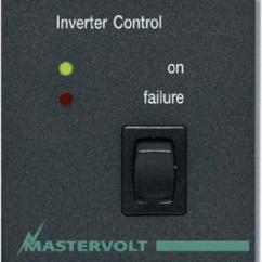 Marine Battery Monitoring System Ge Dryer Start Switch Wiring Diagram Mastervolt Control Panel C-4-ri Remote For Mass Inverter | Ocean Options, Inc.