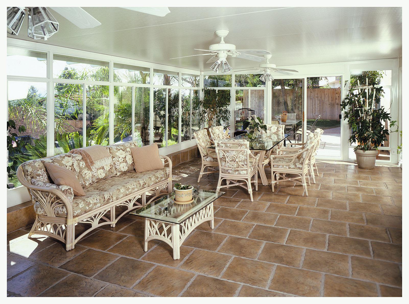 Enclosed Sunrooms
