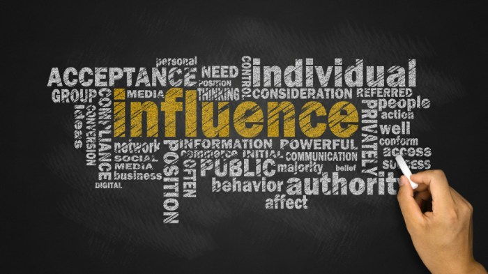 You are not selling. You are influencing