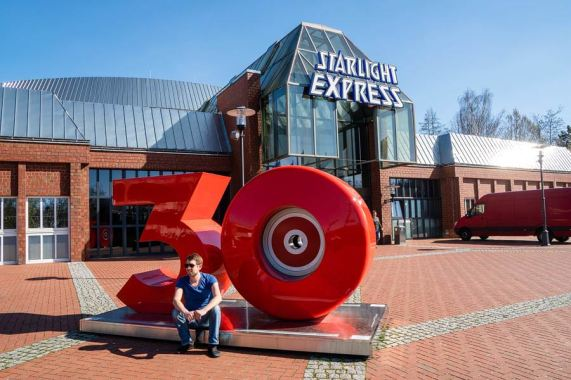 Das Theater des Starlight Express in Bochum.