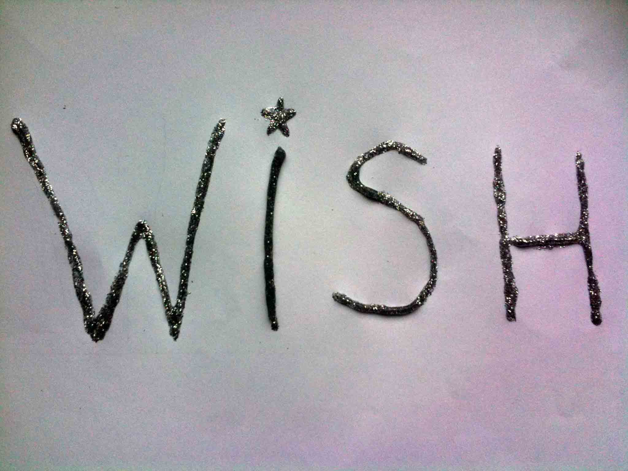 our 12 wishes for