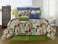 Hawaiian, Coastal, Beach and Tropical Bedding ...