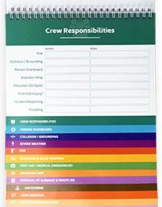 Vessel safety flip chart also ocean time marine rh oceantimemarine