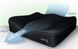 wheelchair cushion living room accent chairs with ottomans airerx air cushions review airrx airflow