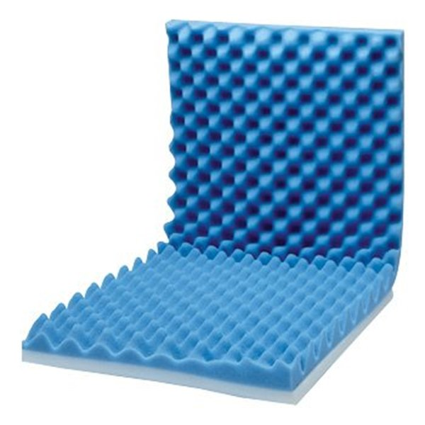 Eggcrate Wheelchair Cushion with Back Support