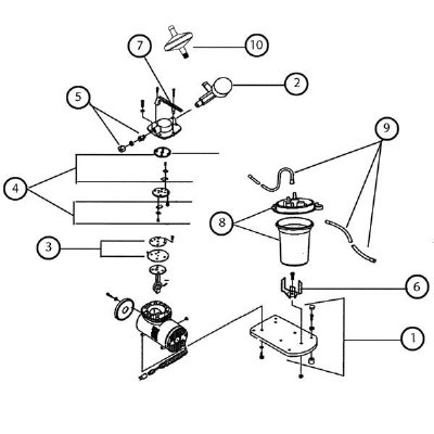 Vacuum Gauge Kit for Schuco Aspirator Model S131