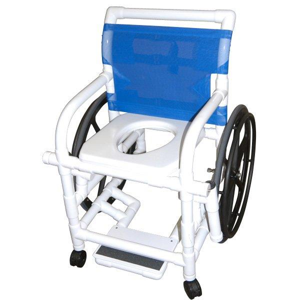 steel chair manufacturing process sharper image massage chairs pvc shower wheelchair