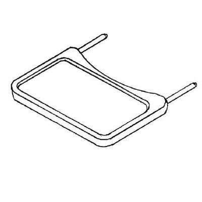 Plastic Blow Molded Tray Only