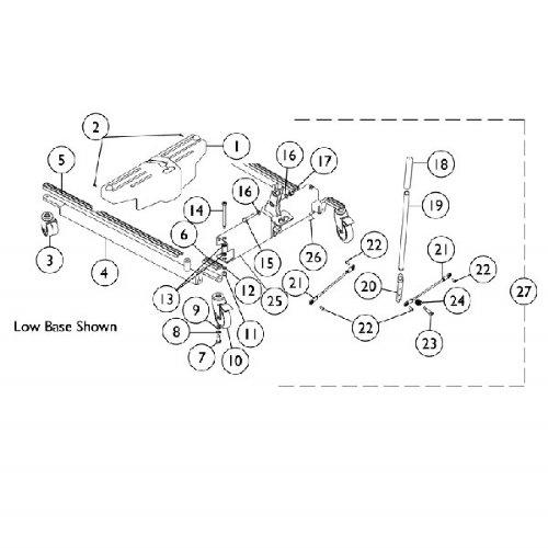 Invacare Shroud Clip for Patient Lifter