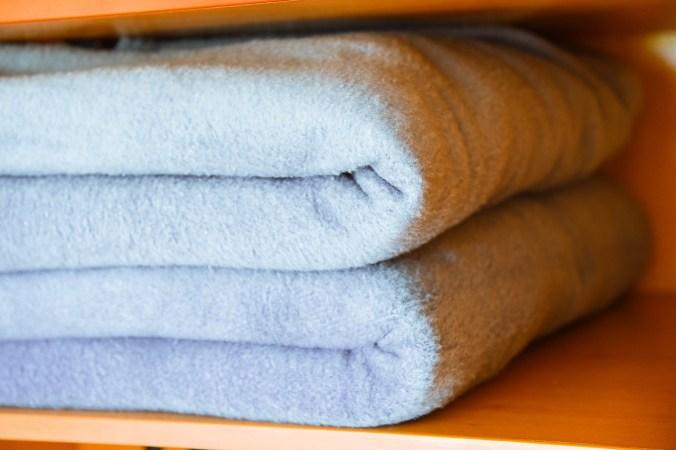stored comforters