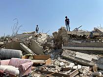 Home demolished in Beit Sira village (Ramallah) on 17 September 2020. Photo by OCHA