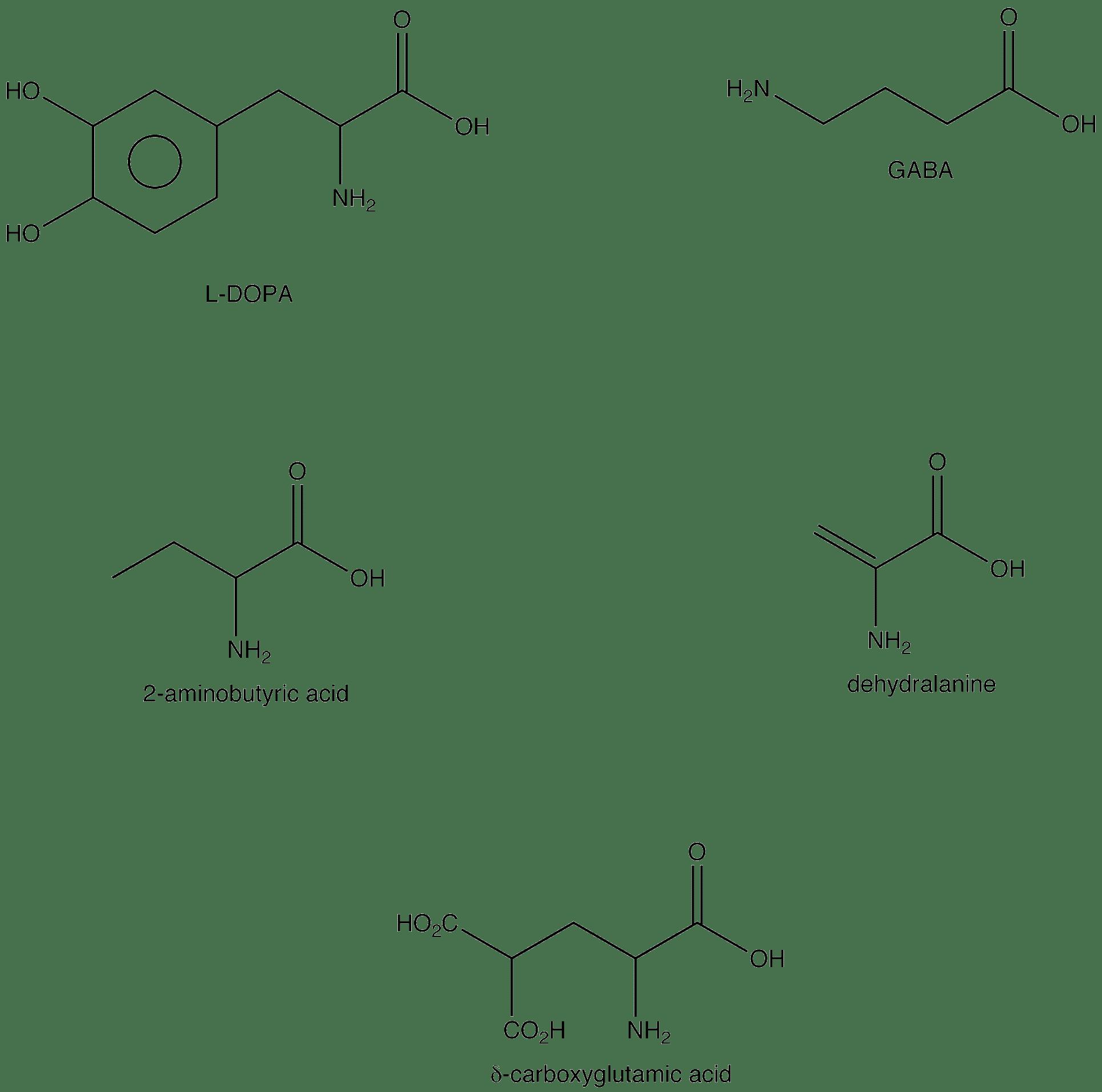 hight resolution of nonstandard amino acid