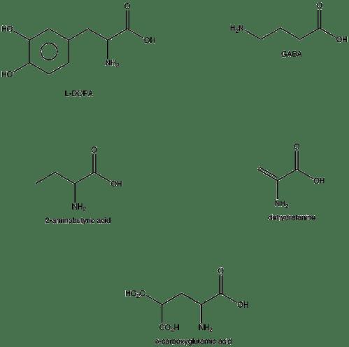 small resolution of nonstandard amino acid