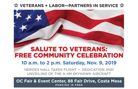 2019 Veterans Day Event