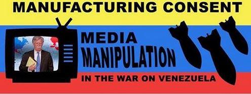 Image result for media war on venezuela