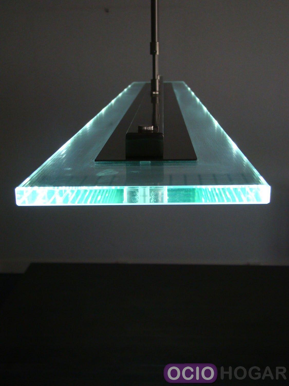 Ociohogar  Lmpara de techo Fusion LED de Fusiontables