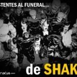 La muerte de Shaka; el funeral ha llegado