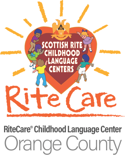 Logo of the RiteCare Childhood Language Center of Orange County