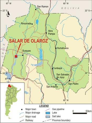 Juj Olaroz Sales de Jujuy ubic