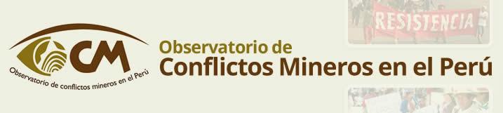 observatorio de conflictos mineros en el peru