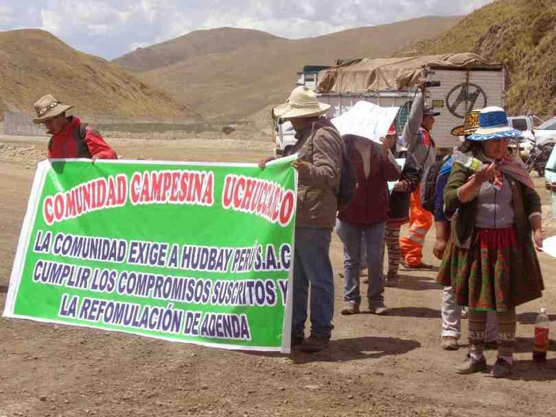 comunidad campesina de uchuccarco