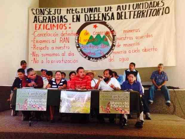 concejo regional de autoridades agrarias mexico