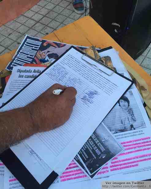 Famatina firmas