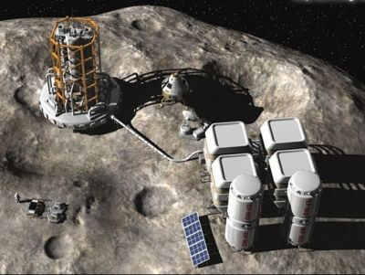 mineria asteroides