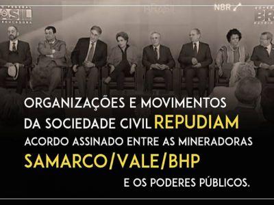 repudio acuerdo brasil gob mineras