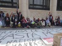 huelga de hambre las bambas