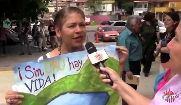 sin oro hay vida venezuela