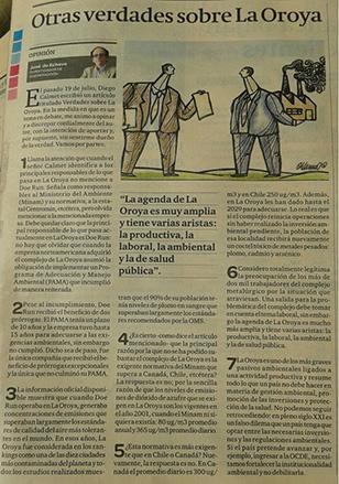 diario oroya