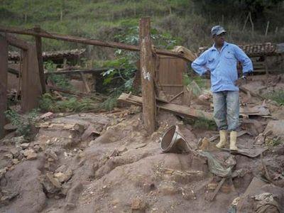 Minas Gerais Samarco desastre M