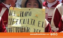 Niños con plomo en su sangre, Ancash, Perú.